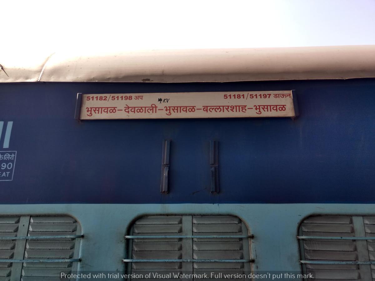 51198/Wardha - Bhusaval Passenger (UnReserved) - Wardha to Bhusaval