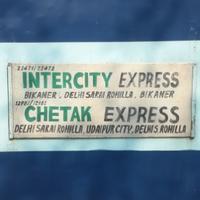 12981/Chetak Express - Delhi Sarai Rohilla to Udaipur NWR