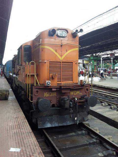 coromandel express train