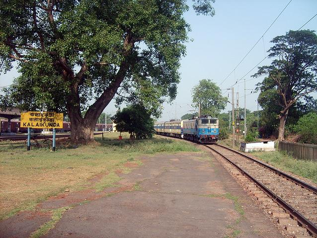 Kalaikunda Railway Station Map Atlas Ser South Eastern