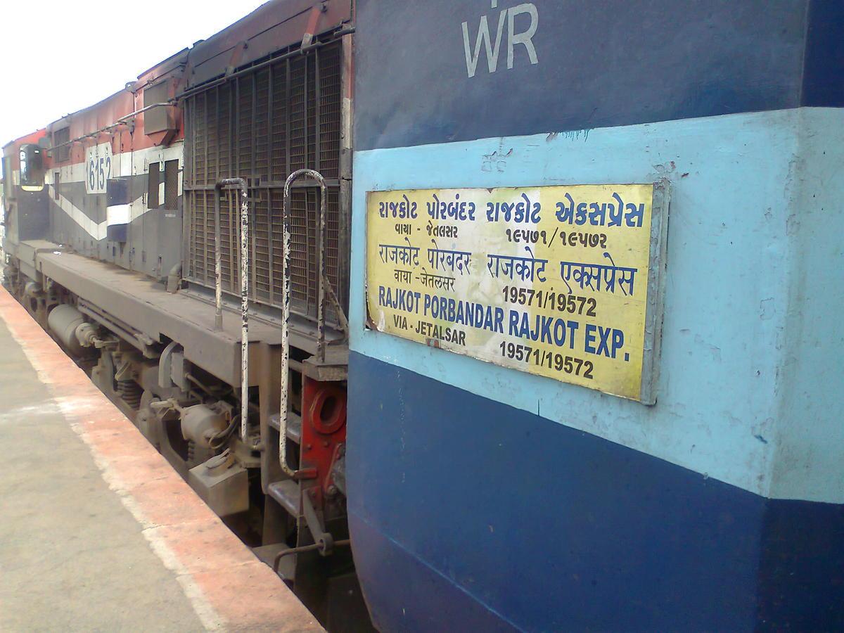 19571/Rajkot-Porbandar Express (Via- JETALSAR) (UnReserved) - Rajkot to  Porbandar WR/Western Zone - Railway Enquiry