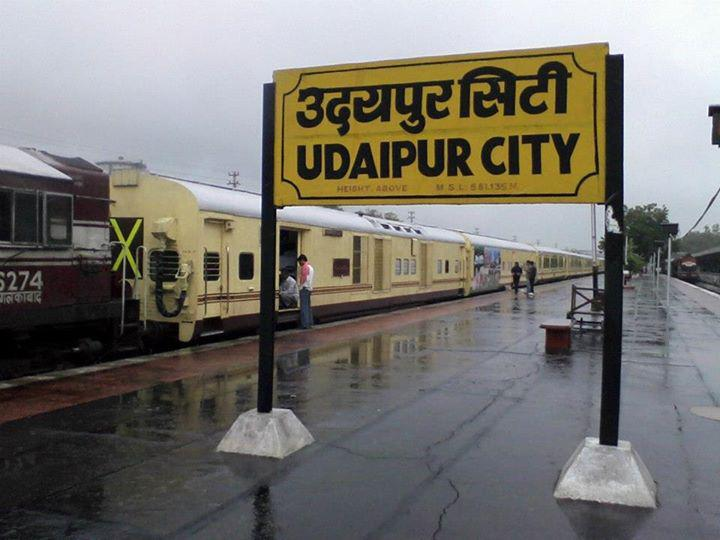 Image result for Udaipur City junction