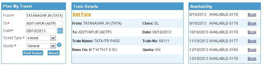 58111/Ttngr Itwr ADTP/Adtypr Adityapur is also a stoppage. Please.