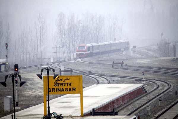 Sinasrinagar Kashmir Station 22 Train Departures Nr