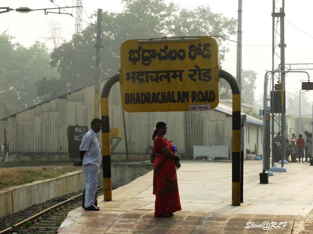 Godavari road cum railway bridge