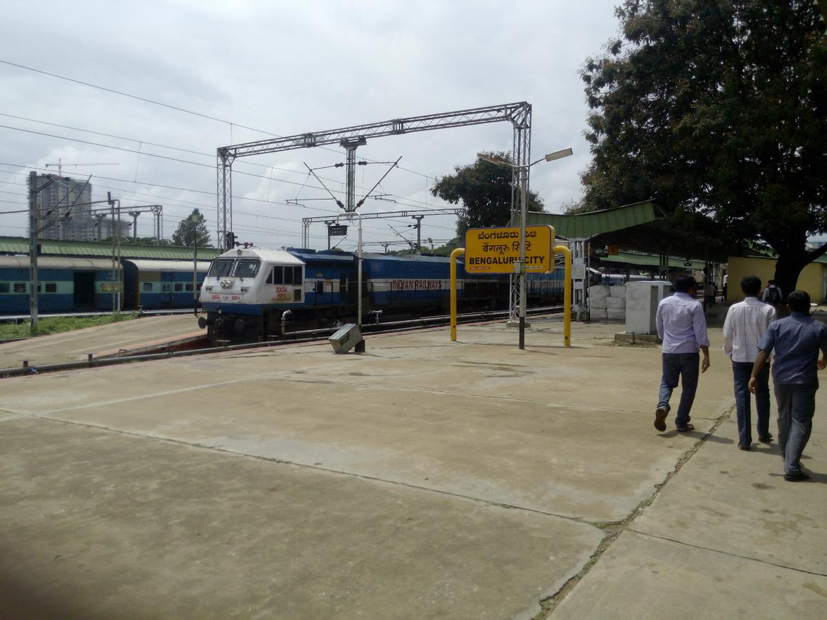 Image result for latest images of 12 train services to be canceled between Feb 9 and 10 in Bengaluru