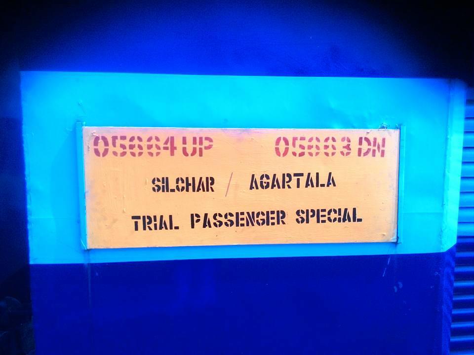Agartala - Silchar Passenger/55663 Time Table/Schedule: Agartala to