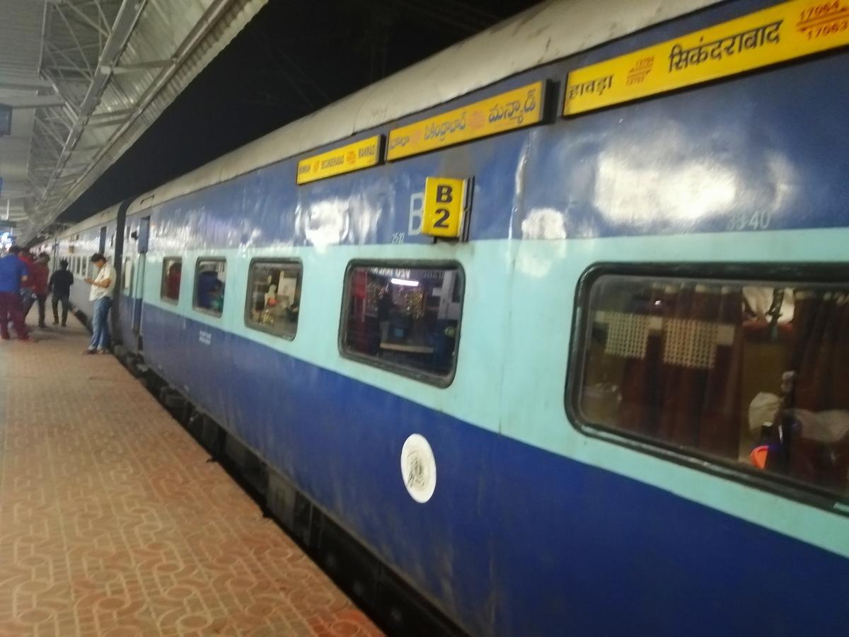 12703/Falaknuma Express (PT) - Howrah to Secunderabad SCR