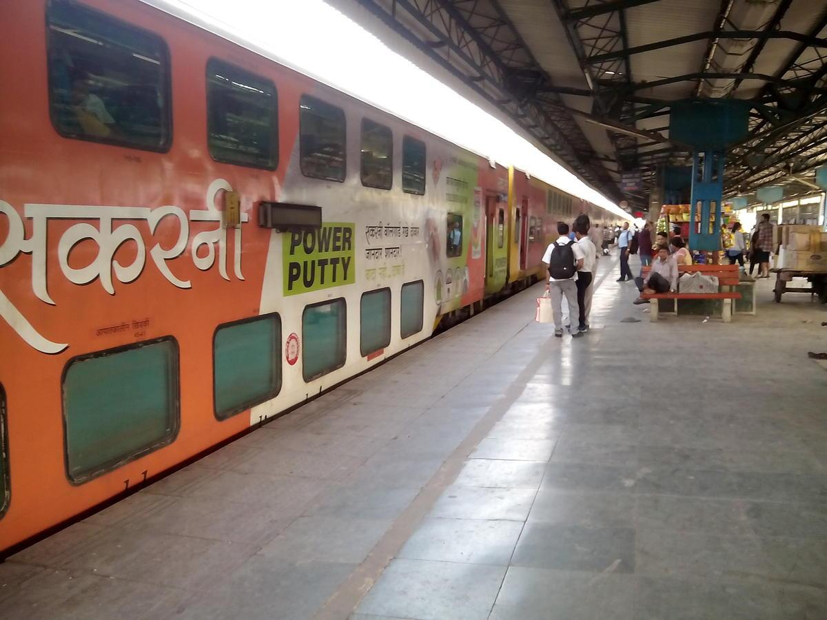 Jaipur-Delhi Sarai Rohilla AC Double Decker Express/12985 Arrival/Departure  History - Railway Enquiry