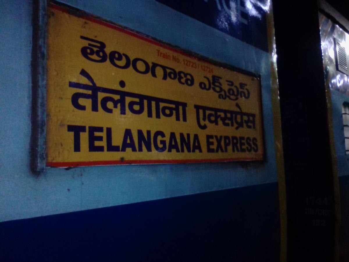 Telangana Express (PT)/12723 IRCTC Fare Enquiry - Railway