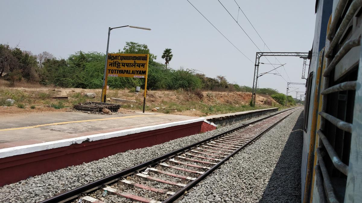 Totiyapalayam Railway Station Picture & Video Gallery