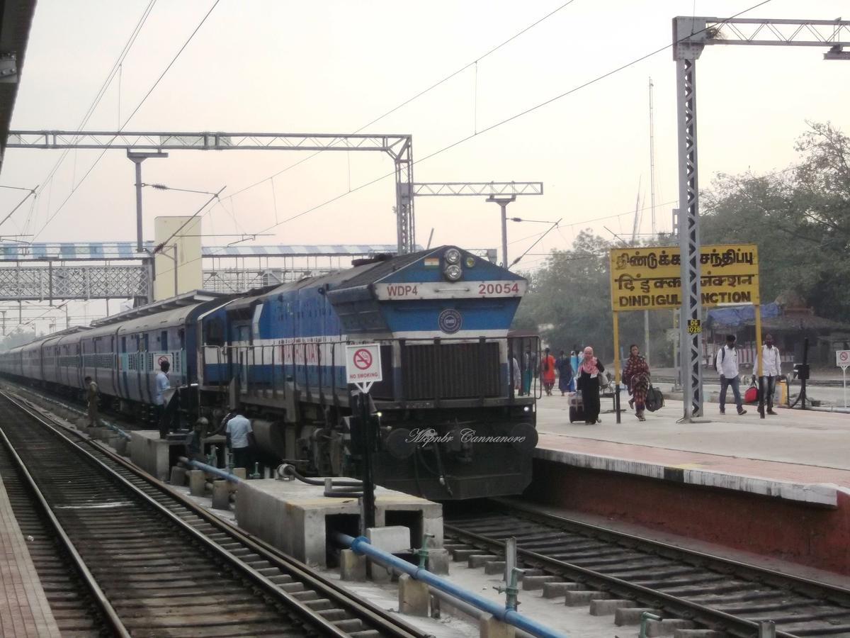Dindigul Railway Station Picture & Video Gallery - Railway Enquiry
