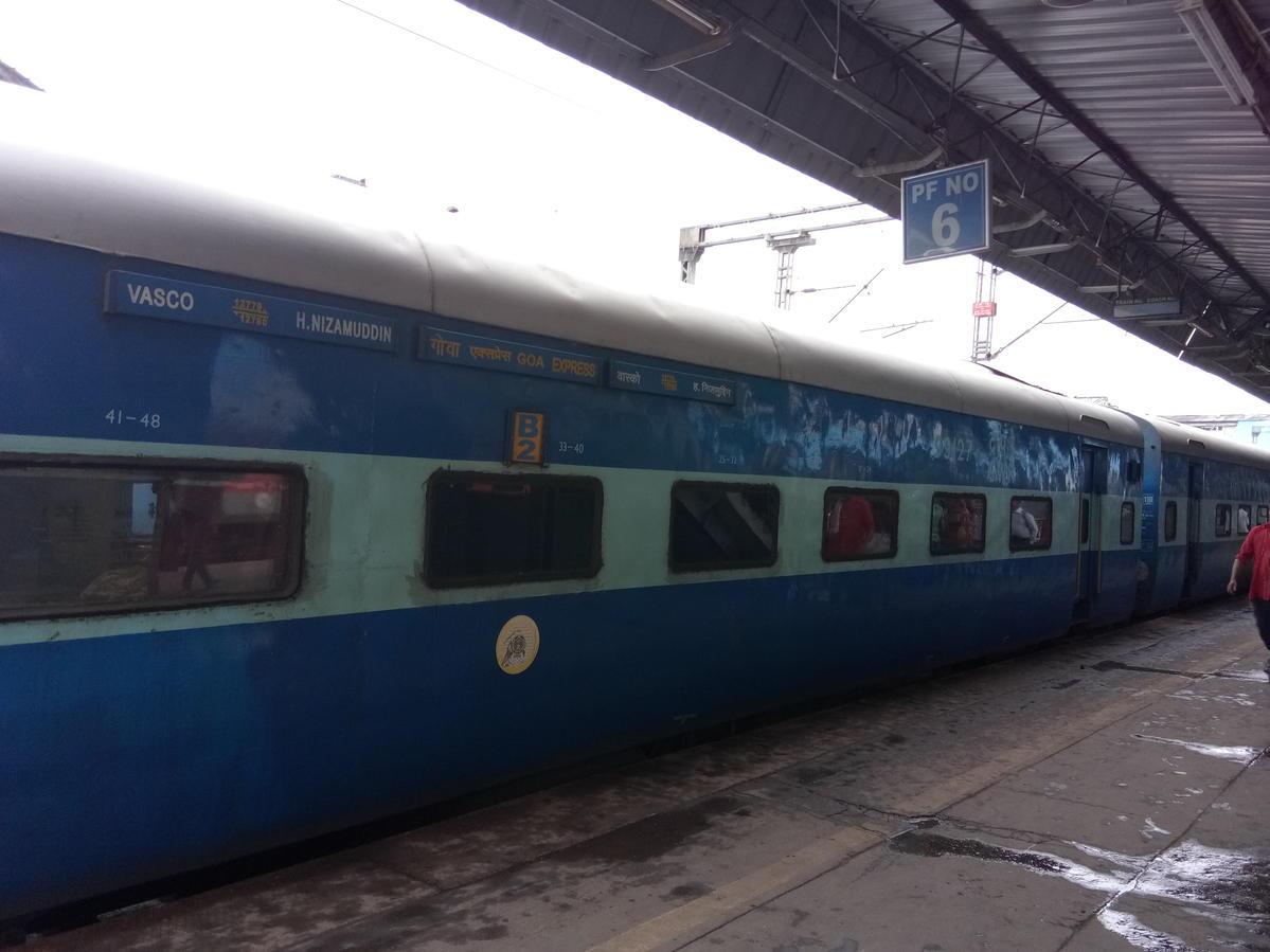 Goa Express (PT)/12780 IRCTC Fare Enquiry - Railway Enquiry