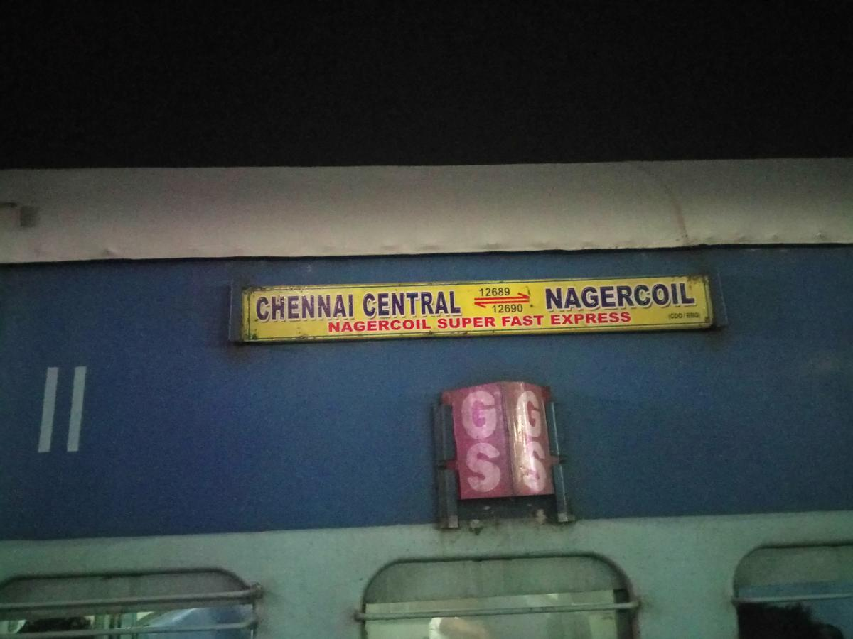 Chennai Central - Nagercoil (Weekly) SF Express (PT)/12689 Picture & Video  Gallery - Railway Enquiry