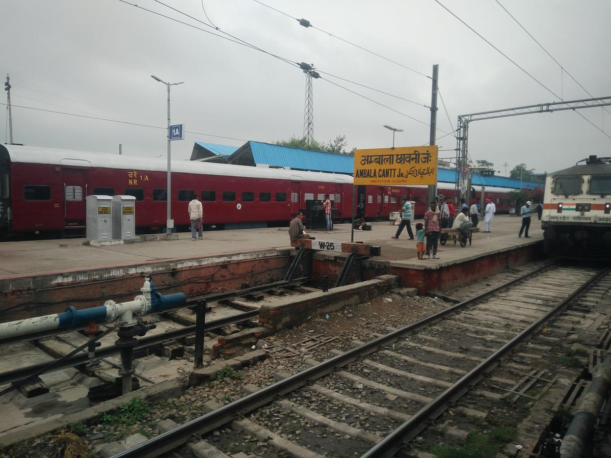 Ambala Cantt. to Lucknow Charbagh NR: 33 Trains, Shortest ...
