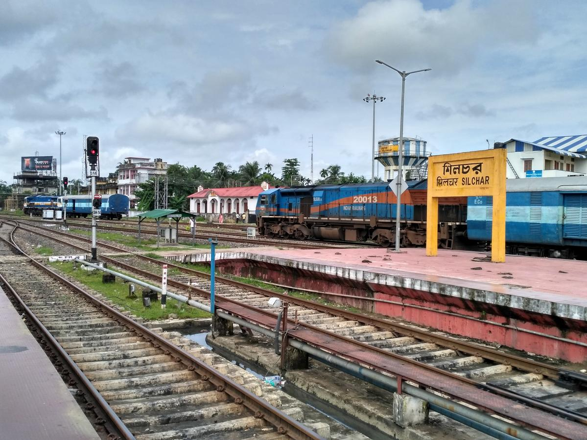 Trains to Silchar Station - 14 Arrivals NFR/Northeast Frontier Zone