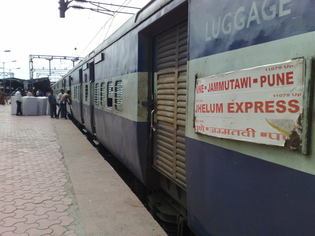 11077/Jhelum Express (PT) - Manmad to Pathankot Cantt CR/Central Zone -  Railway Enquiry