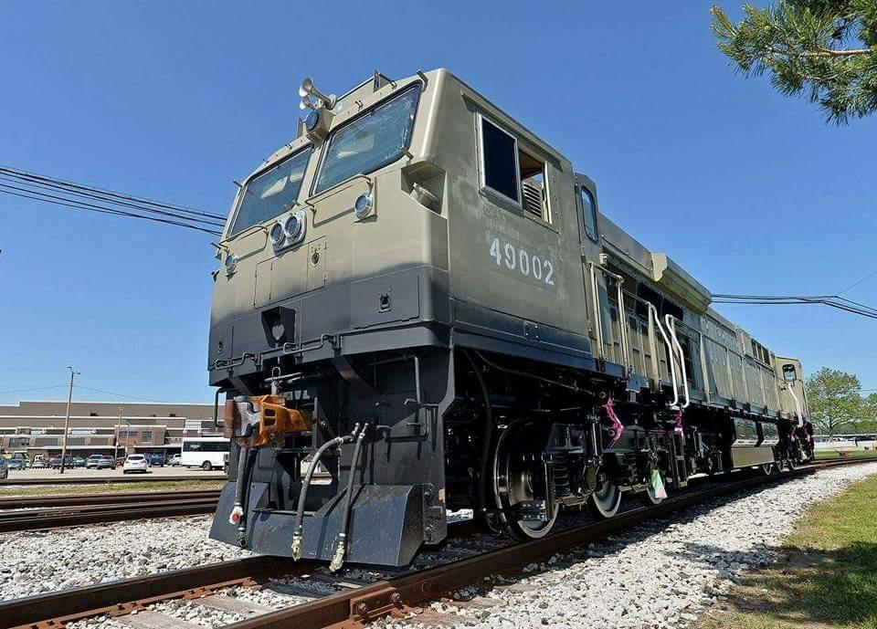 2314877-0: WDG4-G prototype unveiled by GE Transpor