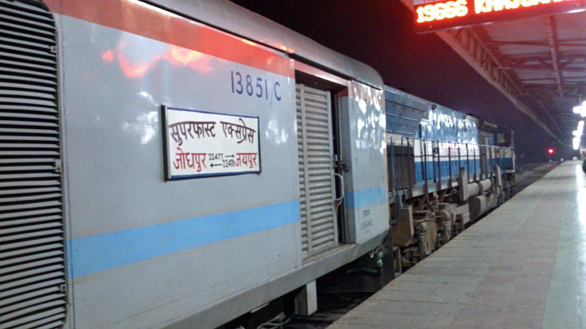 Train board of 22478/22477.