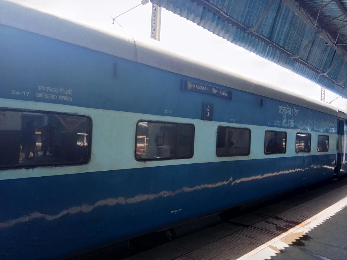 Chandigarh - Mumbai Bandra (T) Bi-weekly SF Express/22452 IRCTC Fare