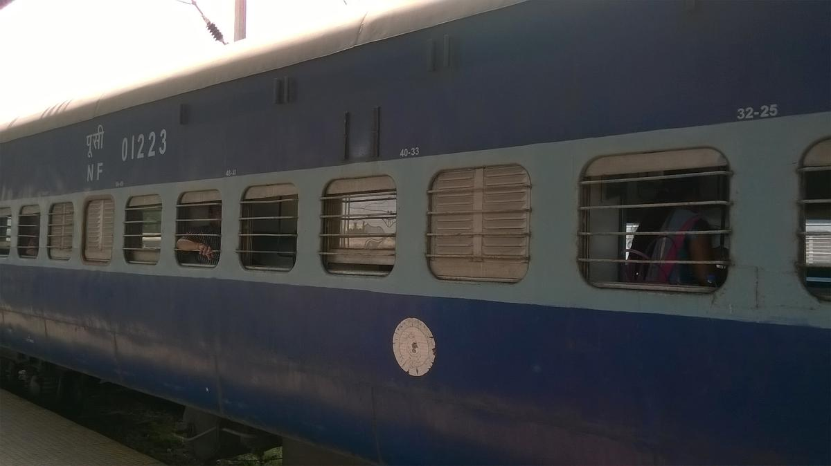 travelled by 15639 up puri ghy exp. from puri to guwahati.