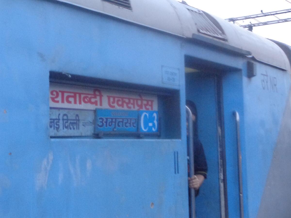 Amritsar - New Delhi Shatabdi Express/12014 IRCTC Fare Enquiry