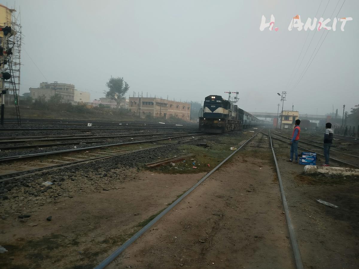 13023/Hwrh Gy JMP/Jmlpr #RailFanningAtJamalpur