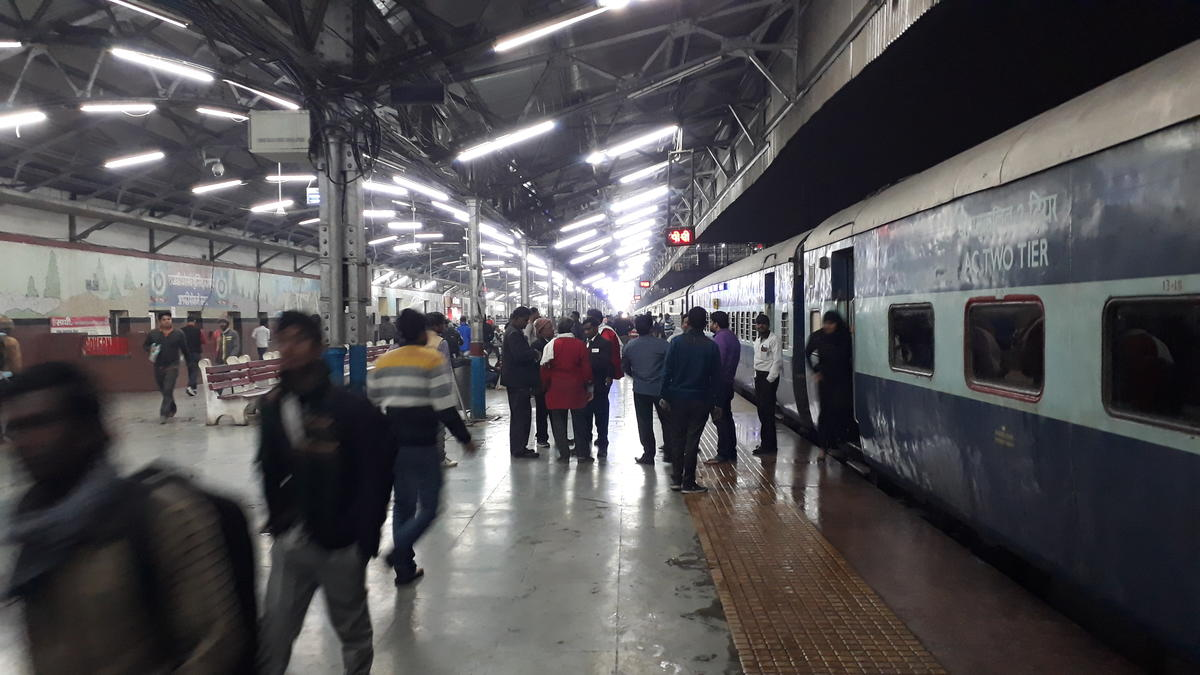 Howrah Jodhpur Sf Express Pt 12307 Picture Amp Video