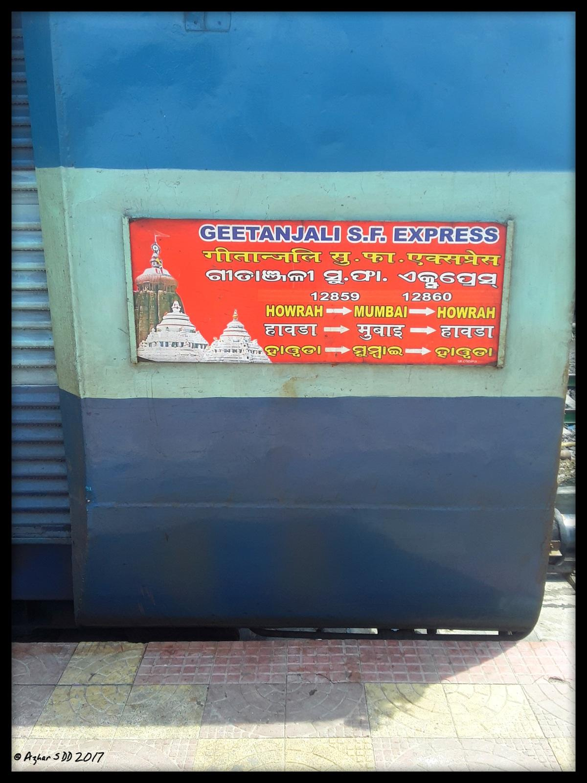 Gitanjali Express (PT)/12859 Time Table/Schedule: Chhatrapati ...